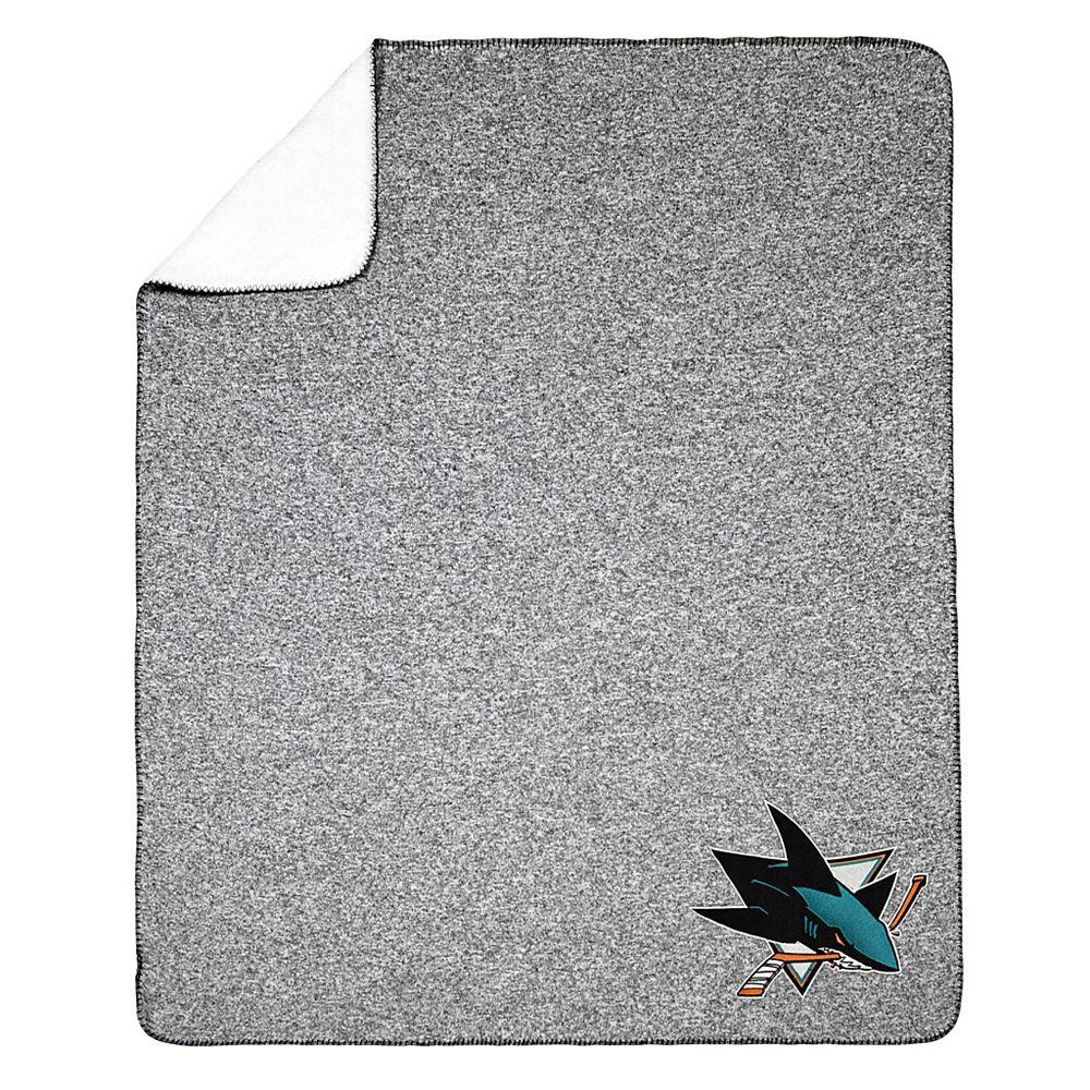 NHL NHL San Jose Sharks Team Crest Sweater Knit Throw