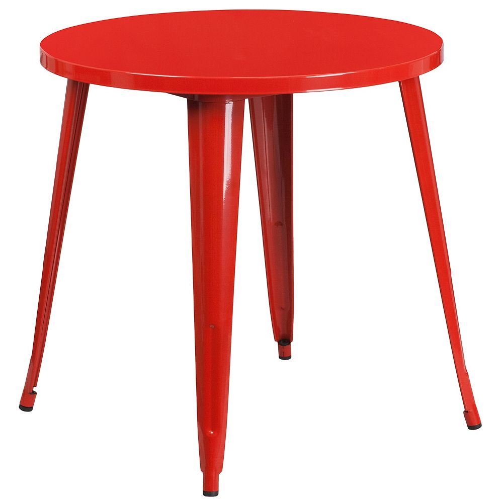 Flash Furniture 30RD Red Metal Table