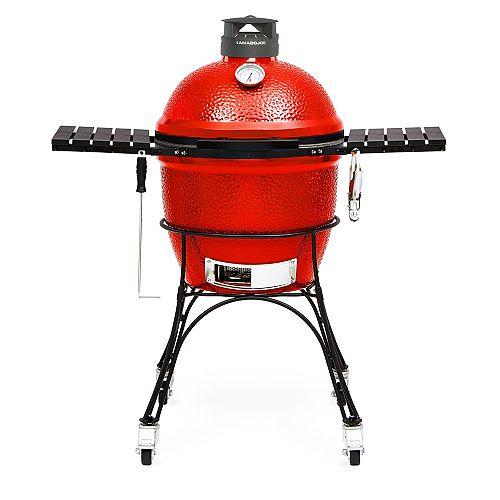 Classic Joe II 18 inch Charcoal Grill in Blaze Red