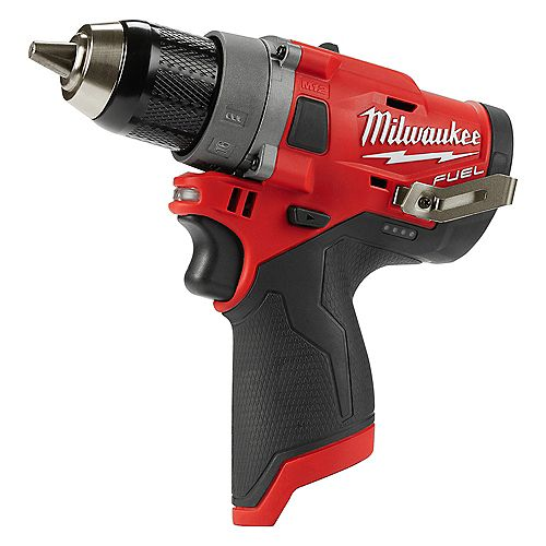 Milwaukee Tool M12 FUEL 12V Lithium-Ion Brushless Cordless 1/2-inch Drill Driver (outil seulement)