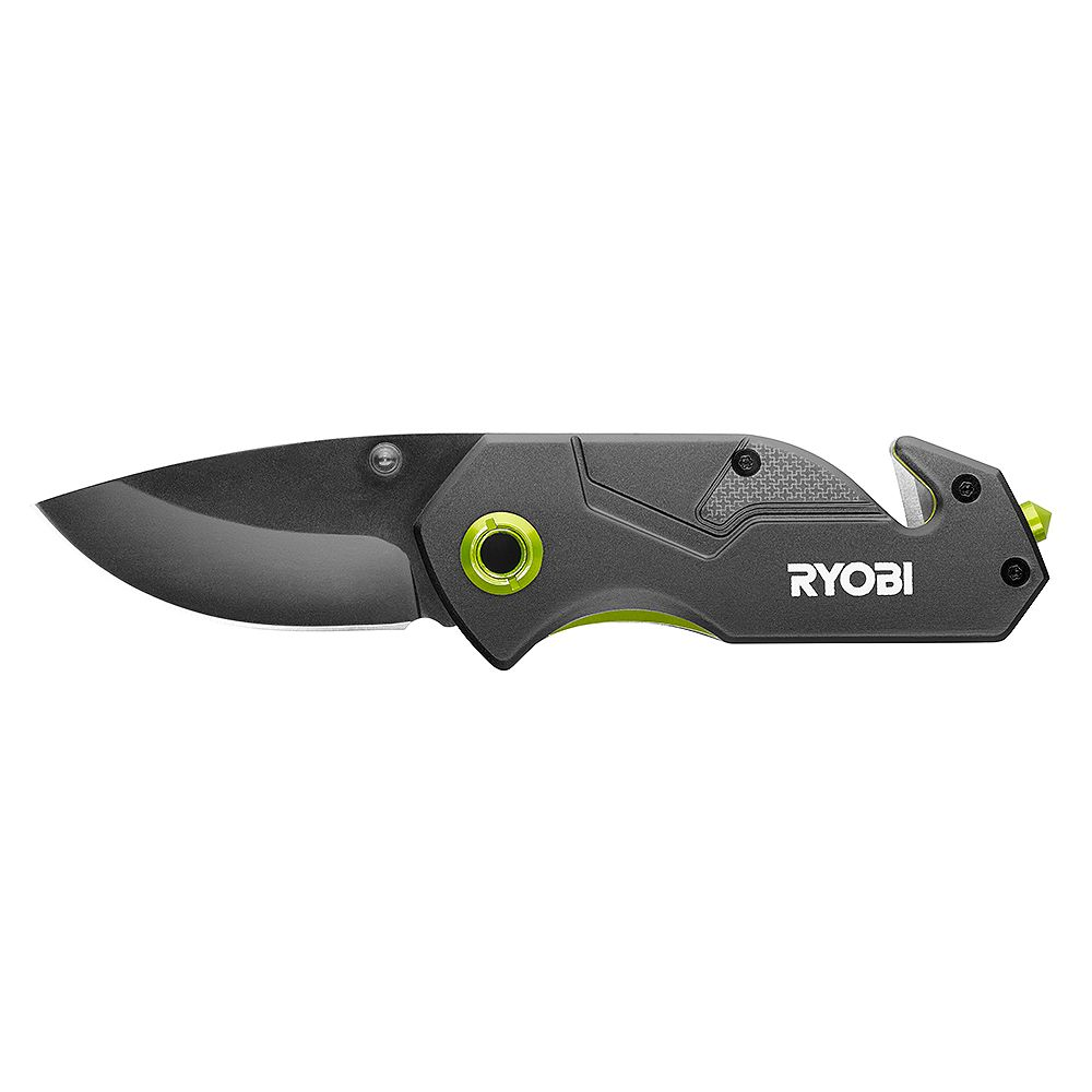 RYOBI Compact Folding Tactical Knife