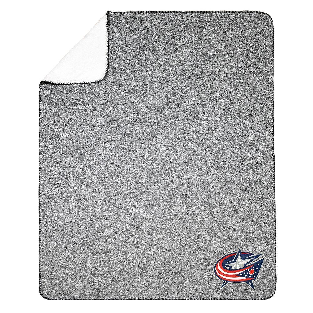 NHL NHL Columbus Blue Jackets Team Crest Sweater Knit Throw