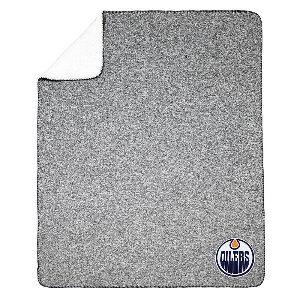 NHL NHL Edmonton Oilers Team Crest Sweater Knit Throw