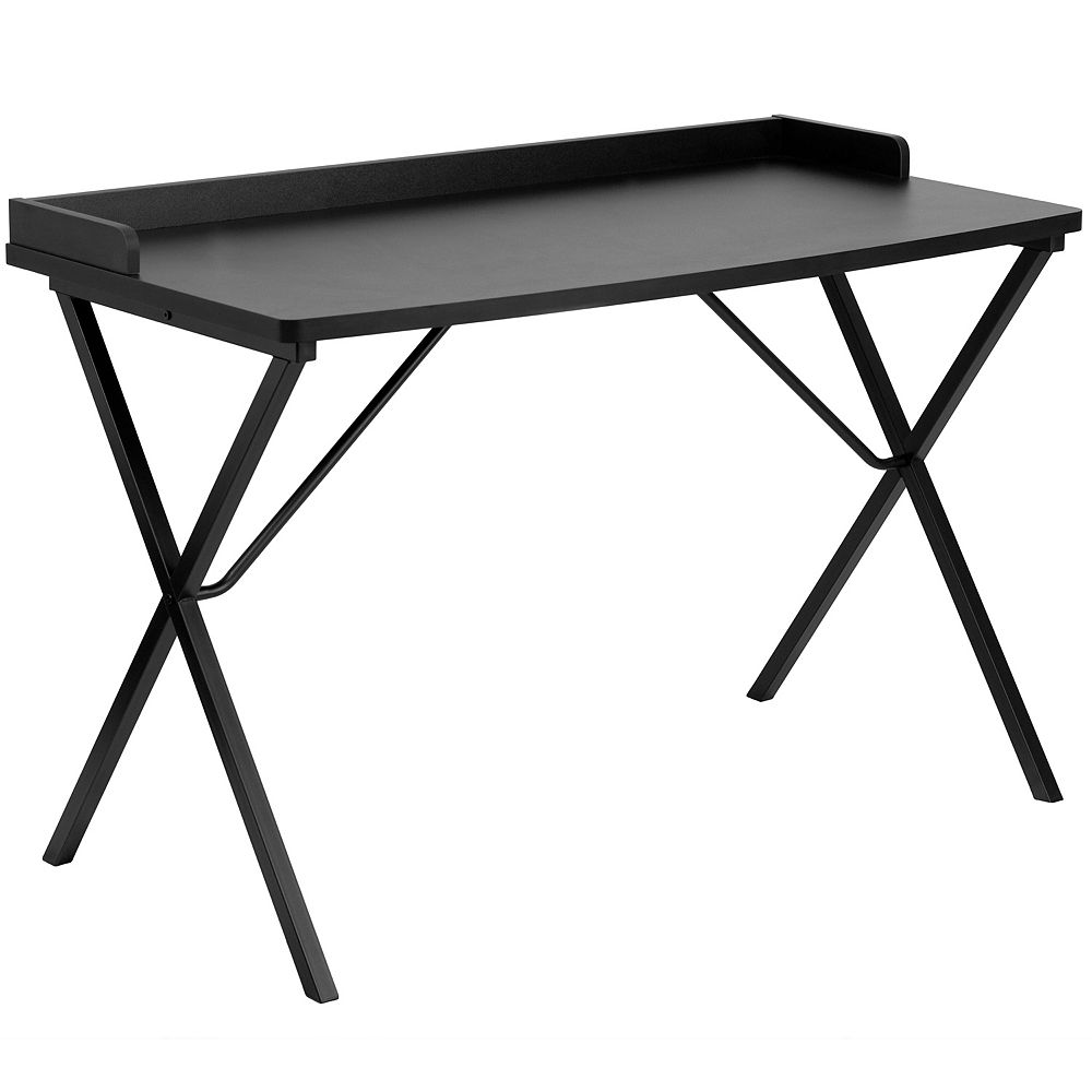 Flash Furniture Bureau d'ordinateur noir