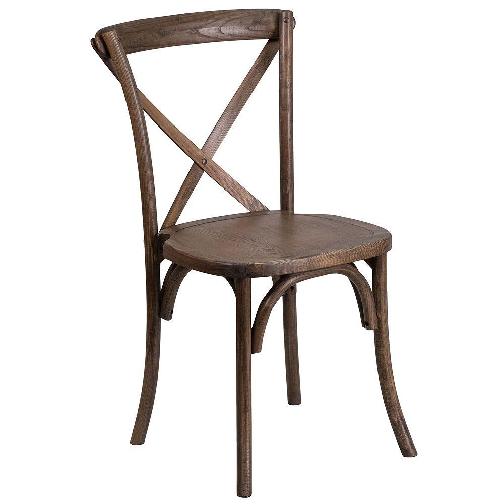 Flash Furniture Early Amer. Cross Back Chair