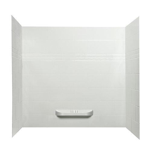 Catalina murs de douche en acrylique.
