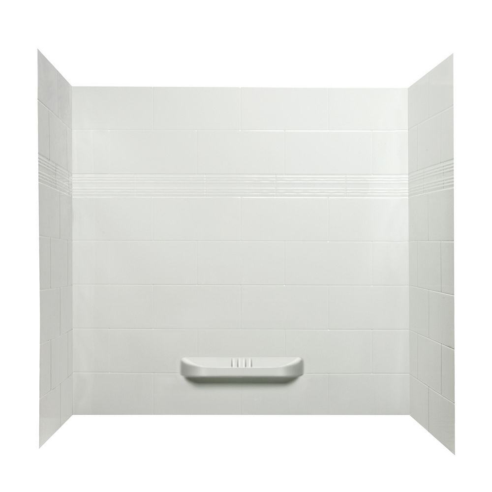 A&E Bath and Shower Catalina murs de douche en acrylique.