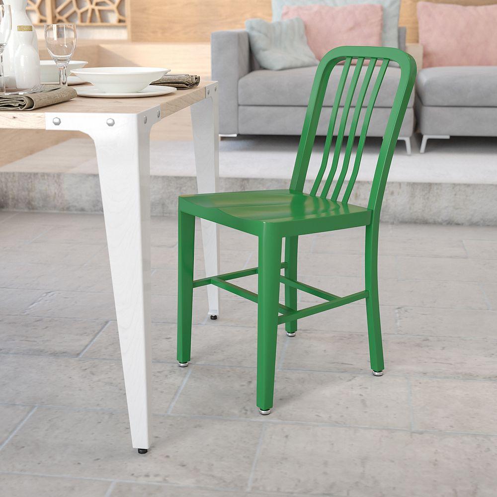 Flash Furniture Green Indoor-Outdoor Chair