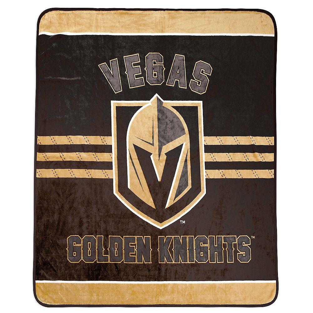NHL Couverture velours de luxe LNH - Golden Knights de Vegas