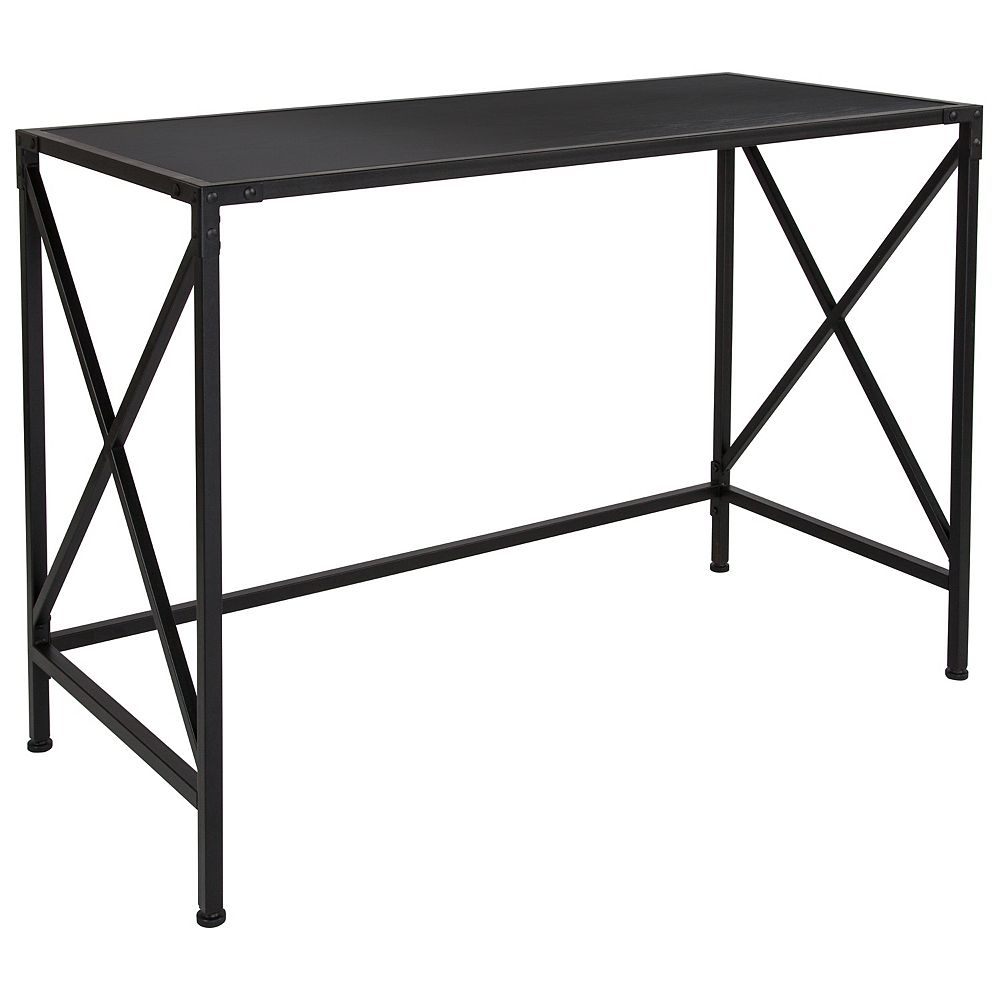 Flash Furniture Ash Computer Desk with X-Frame