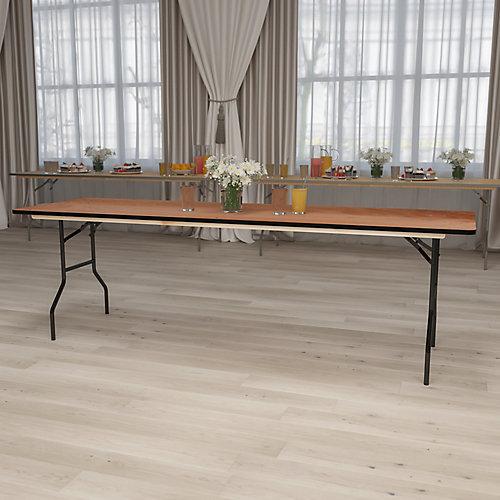 30x96 Wood Fold Table