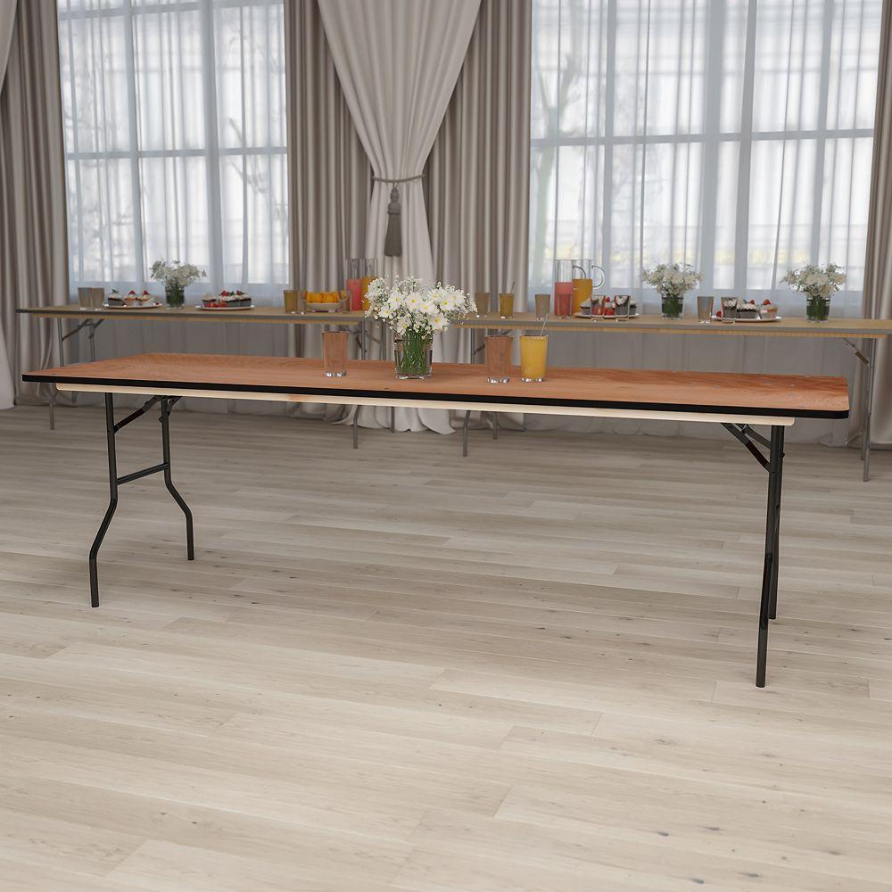 Flash Furniture 30x96 Wood Fold Table