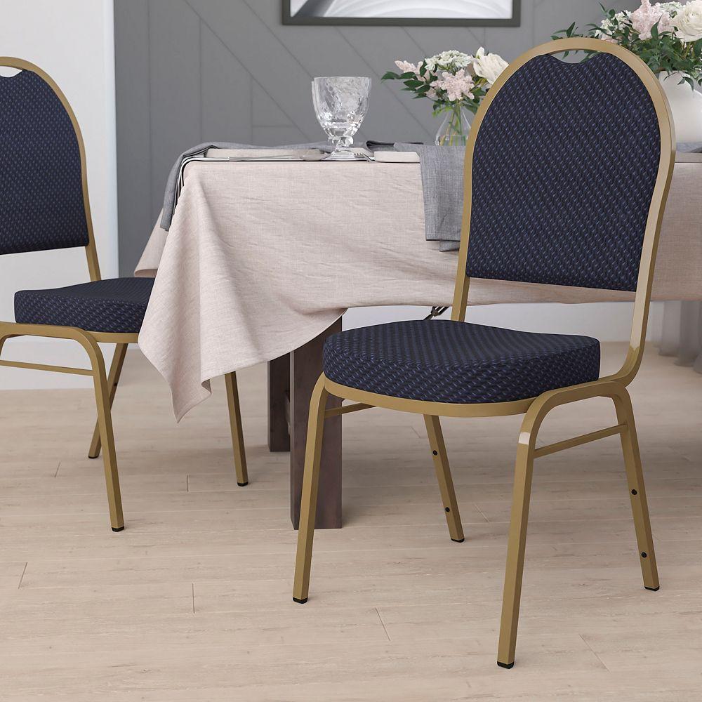Flash Furniture Navy Fabric Banquet Chair