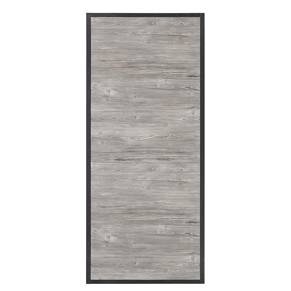 Colonial Elegance 33 inch X 84 inch Shack 1 Panel Barn Interior Door Slab