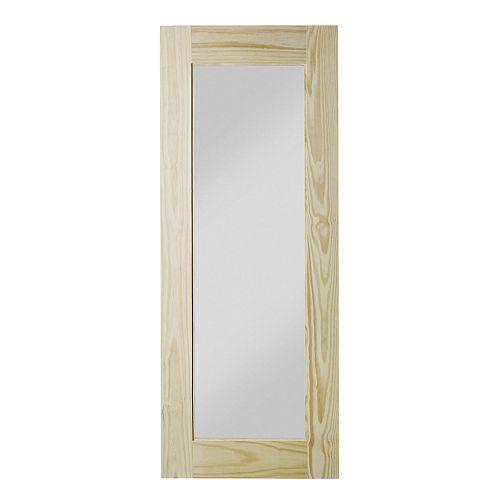 37 po. X 84 po. Reflex Porte de Grange Miroir Interior