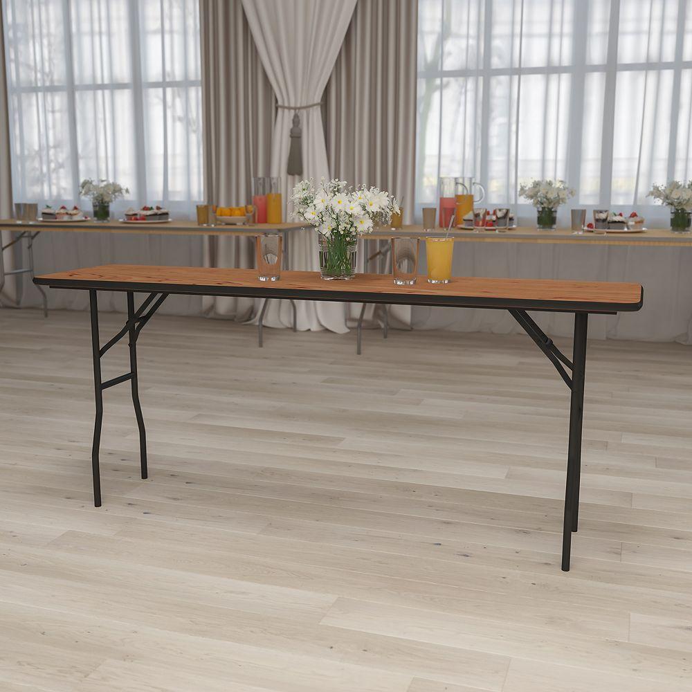 Flash Furniture 18x72 Wood Fold Training Table