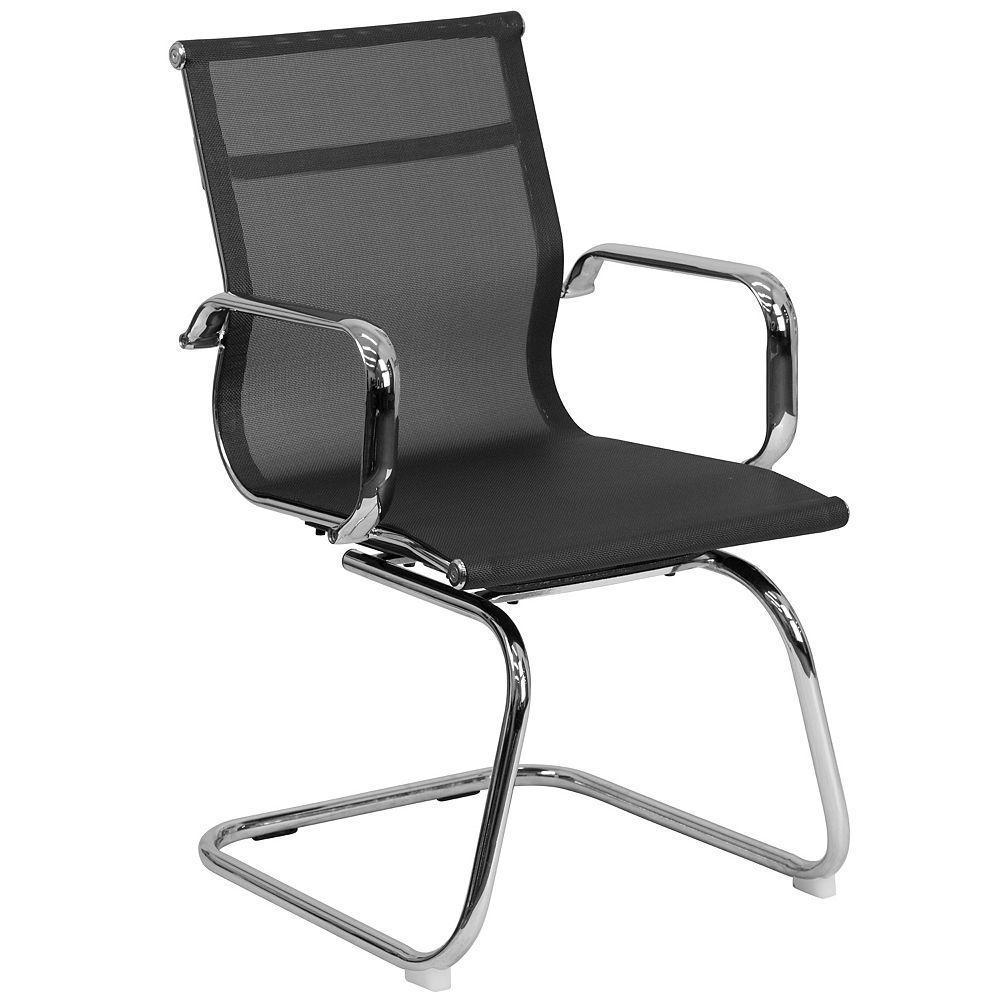 Flash Furniture Black Mesh Side Chair