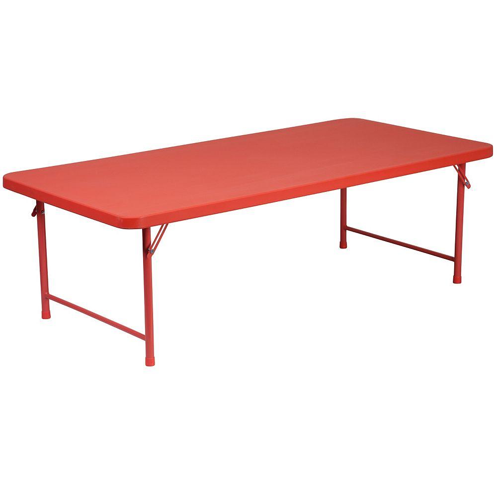 Flash Furniture RD 30x60x19 Plastic Fold Table