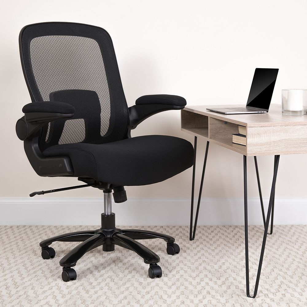 Flash Furniture Black 500LB High Back Chair