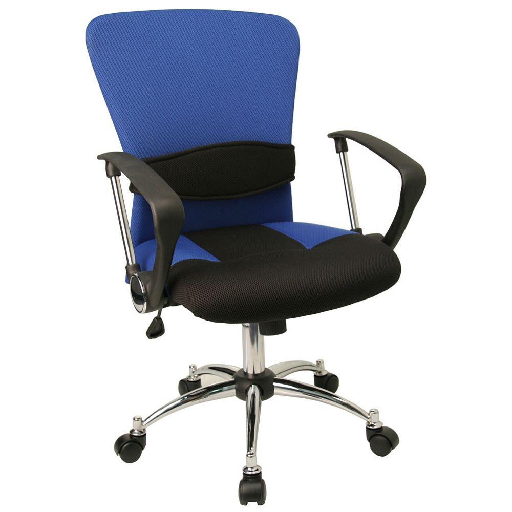 Flash Furniture Blue Mid-Back Task Chair
