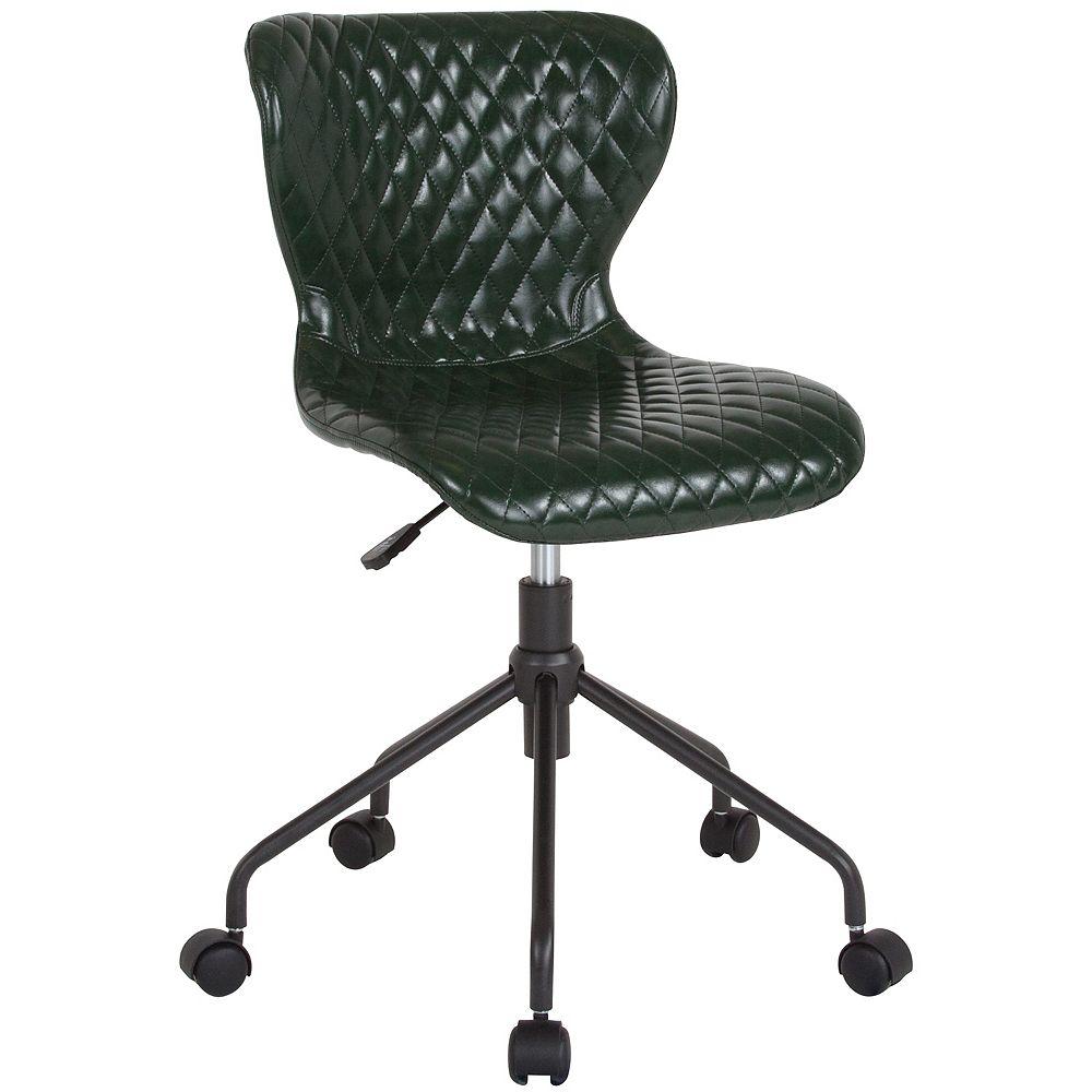 Flash Furniture Green Vinyl Task Chair