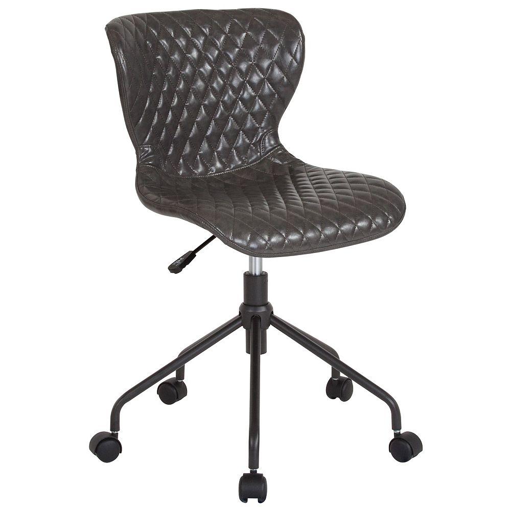Flash Furniture Gray Vinyl Task Chair