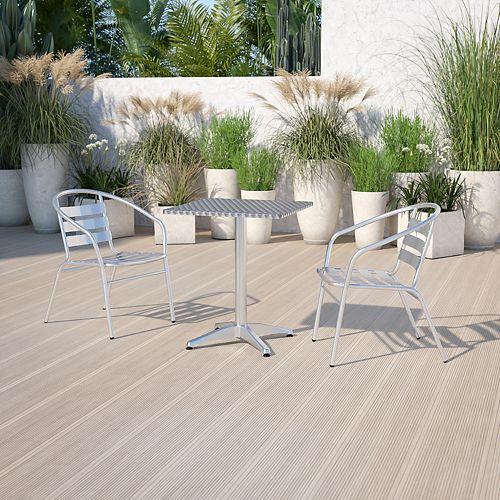 23.5SQ Aluminum Table