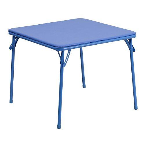 Kids Blue Folding Table