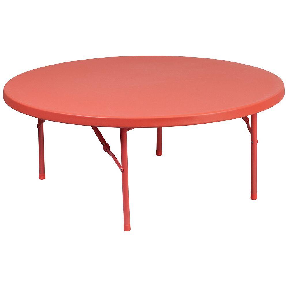 Flash Furniture RD 48RD Kid Plastic Fold Table