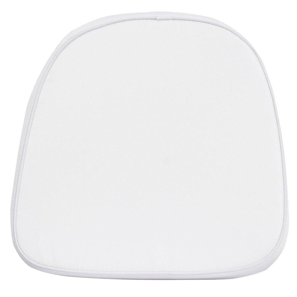 Flash Furniture White Fabric Cushion