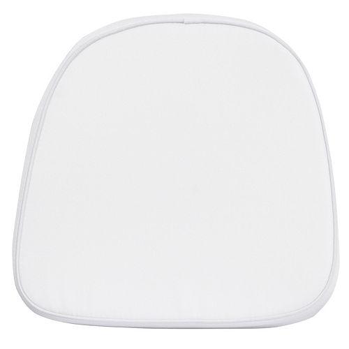 White Fabric Cushion