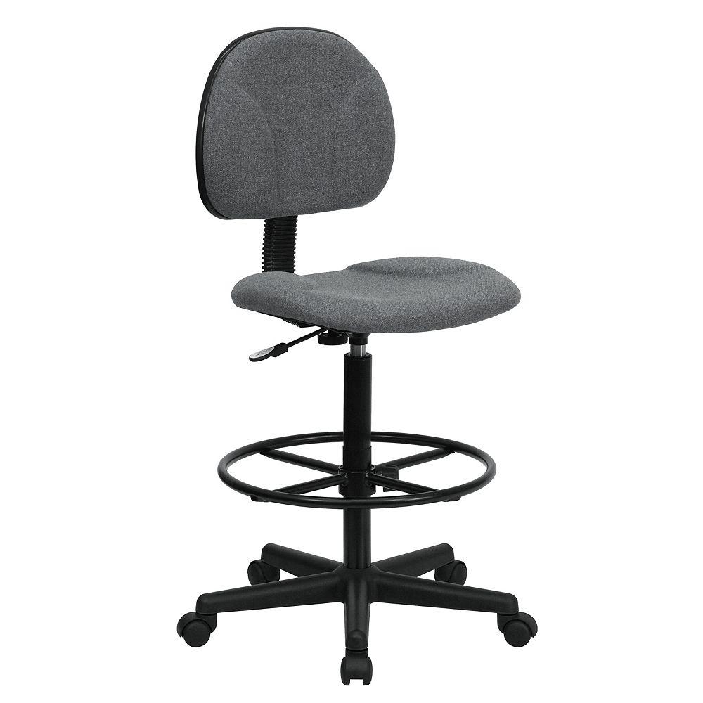 Flash Furniture Gray Fabric Draft Chair
