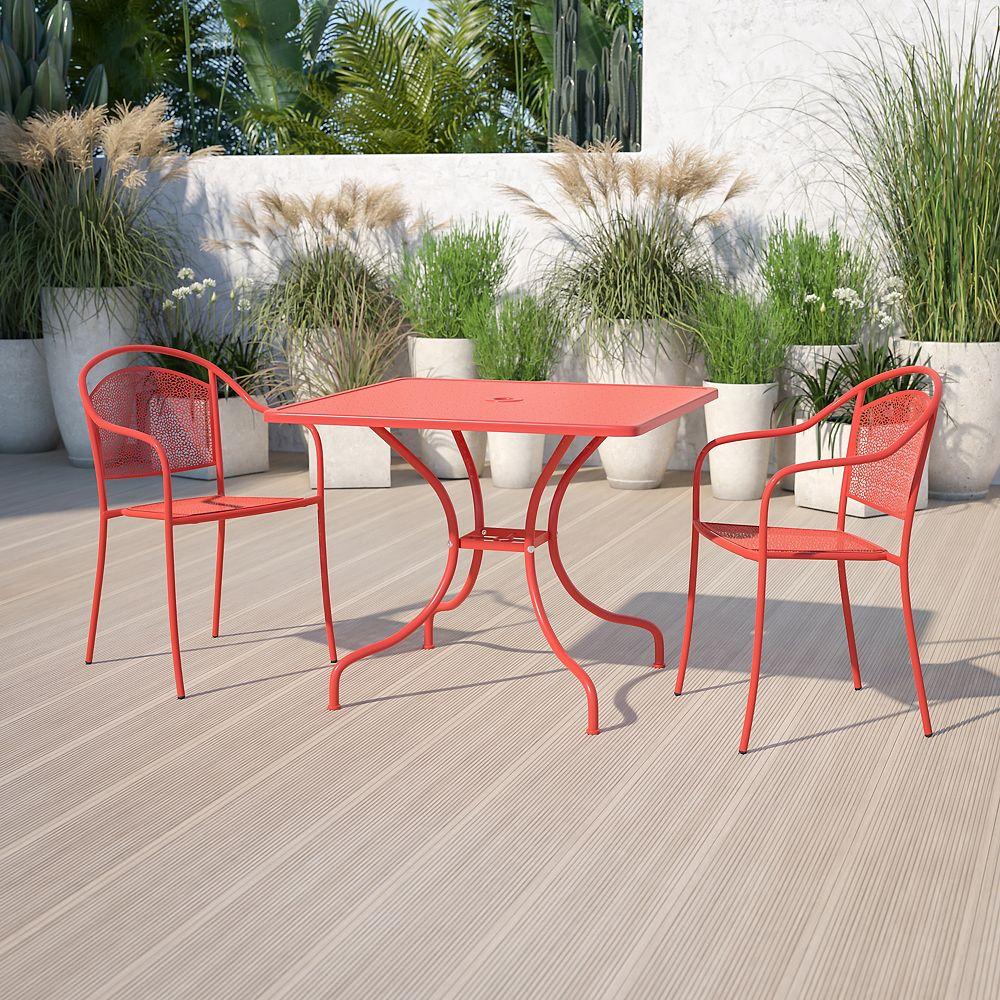 Flash Furniture 35.5SQ Coral Patio Table