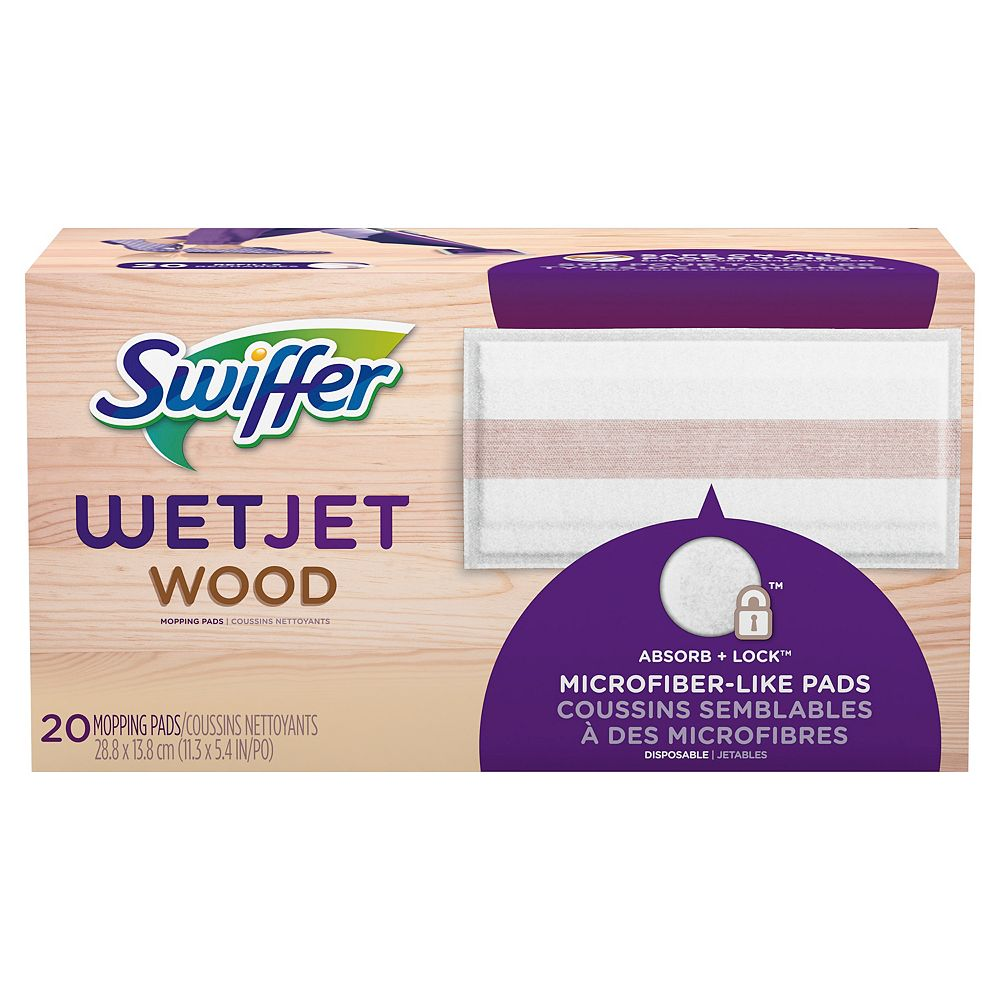 Swiffer Swiffer WetJet Wood Mopping Cloth Refills, 20 count