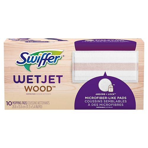 Swiffer WetJet Wood Sweeping Cloth Refills, 10 count
