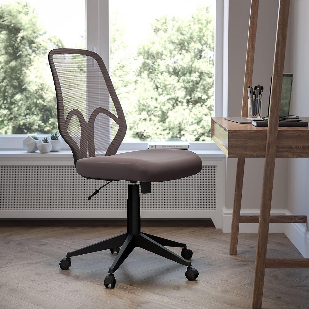 Flash Furniture Salerno Series High Back Dark Gray Mesh Office Chair