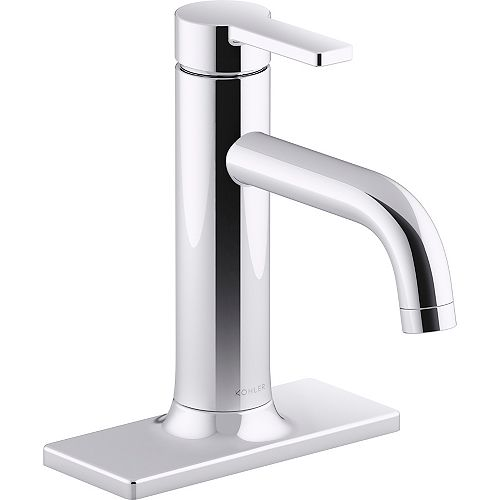 Venza Single-Handle Bathroom Sink Faucet in Polished Chrome