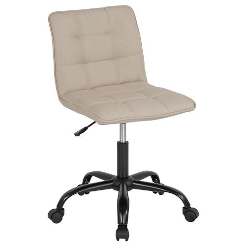 Sorrento Home and Office Task Chair in Beige Fabric
