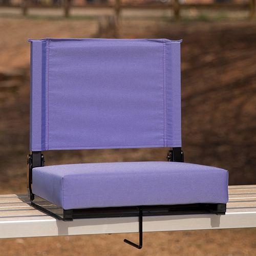 Sièges confortables par Flash ultra rembourrés en violet