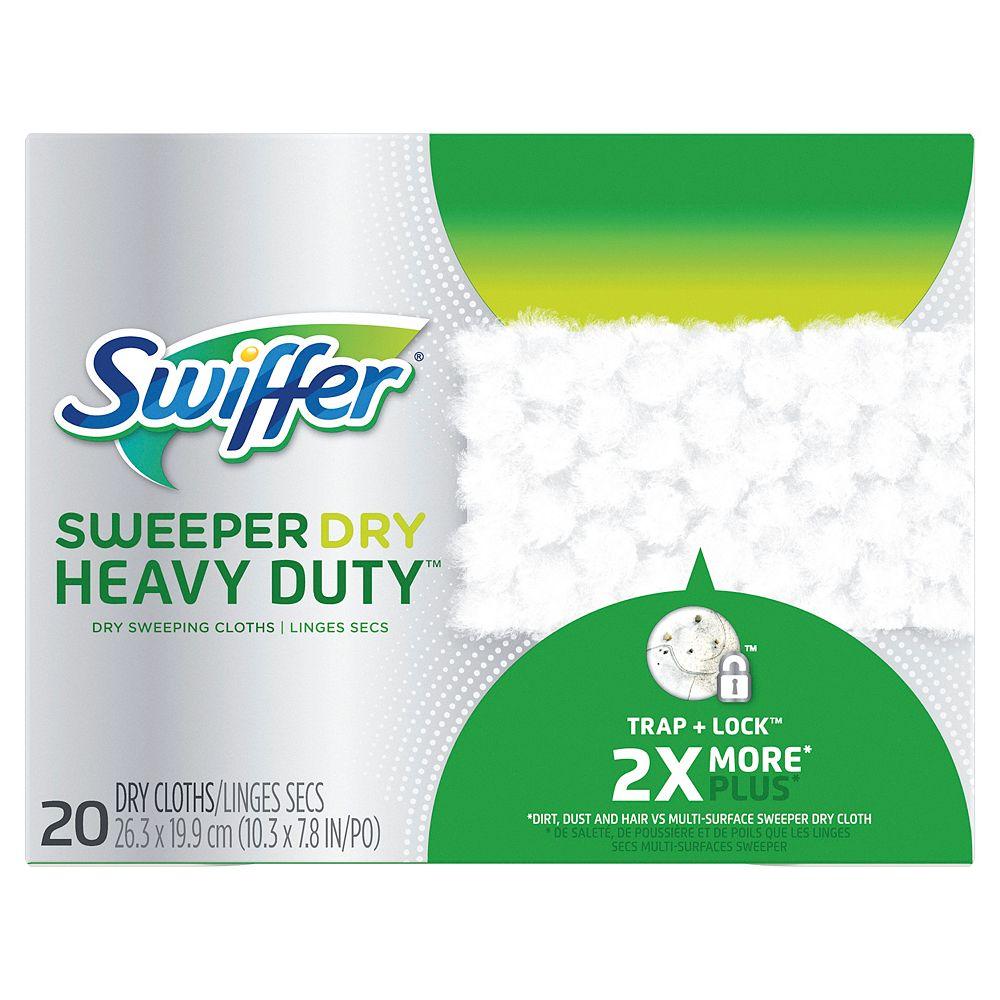Swiffer Swiffer Sweeper Heavy Duty Dry Sweeping Cloths, 20 Count