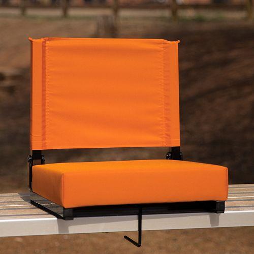 Sièges confortables par Flash ultra rembourrés en orange