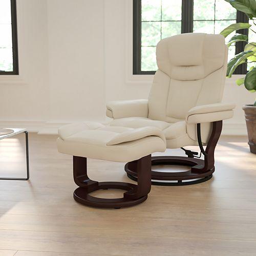 Chaise noire pour 400 lb à dossier haut d'usage intensif