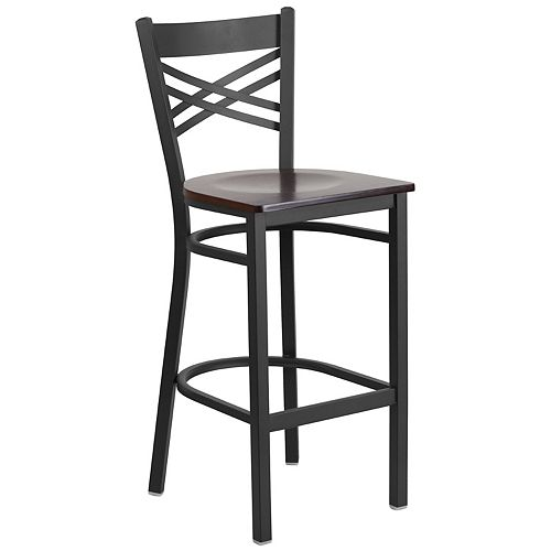 Black X Stool-Wal Seat