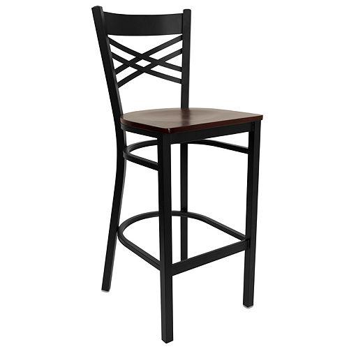 Black X Stool-Mah Seat