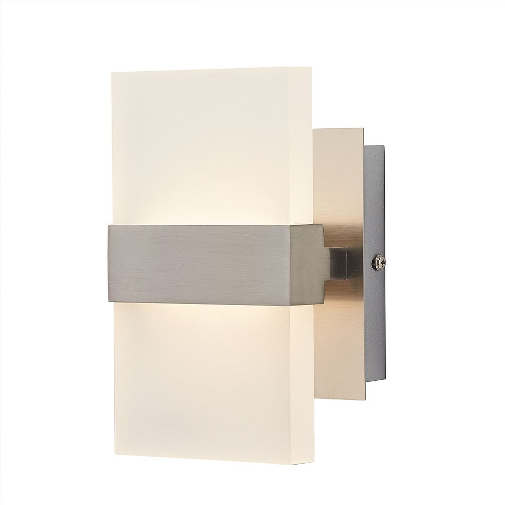 Home Decorators Collection Applique à deux ampoules DEL