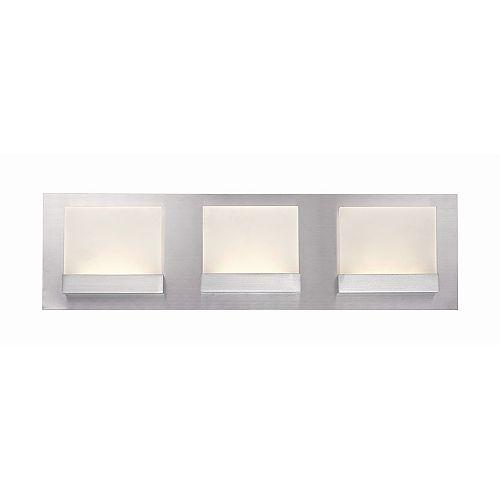 Home Decorators Collection Luminaire de meuble-lavabo à 3 ampoules DEL