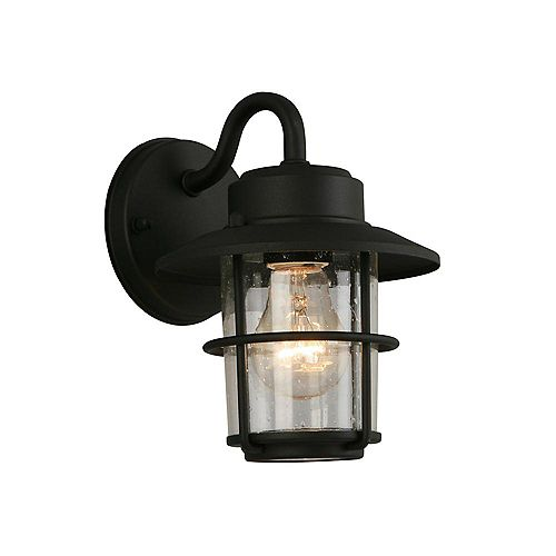 2pk Small Exterior Wall Lantern Black Finish