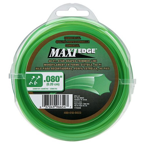 Commercial Maxi-Edge 40' .080 in. Universal Trimmer Line