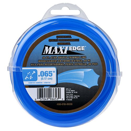 Commercial Maxi-Edge 40' .065 in. Universal Trimmer Line