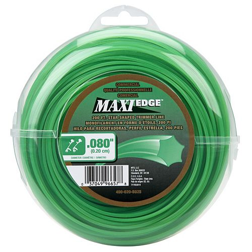 Commercial Maxi-Edge 250' .080 in. Universal Trimmer Line